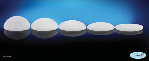 傳統圓形矽膠果凍義乳
